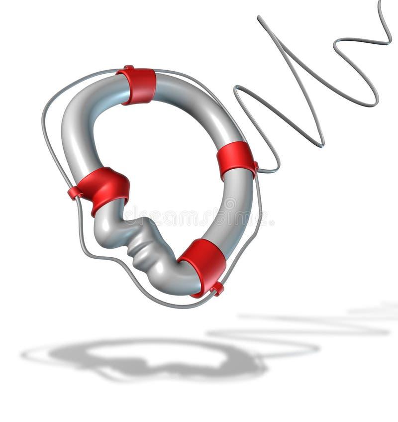 Geestelijke Gezondheidszorg vector illustratie