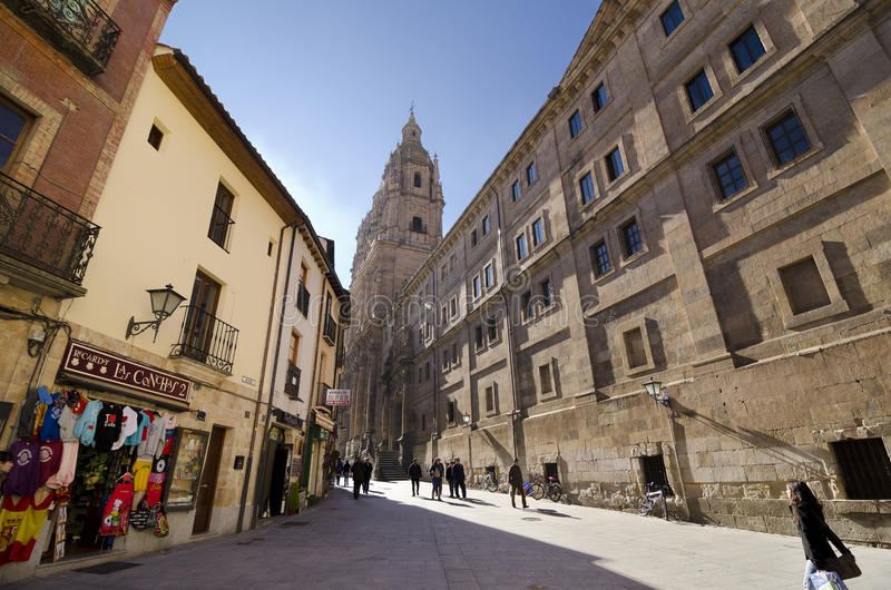 Geestelijkheid, Salamanca stock foto's