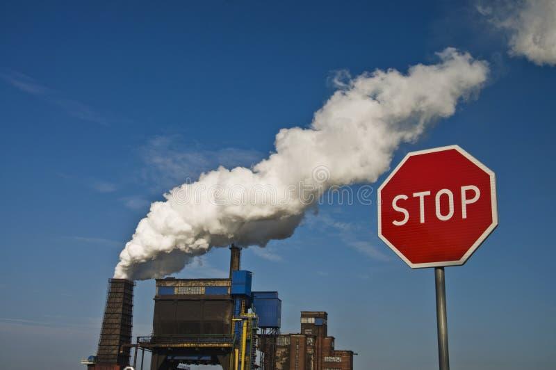 Gefährdete Umwelt stockbilder