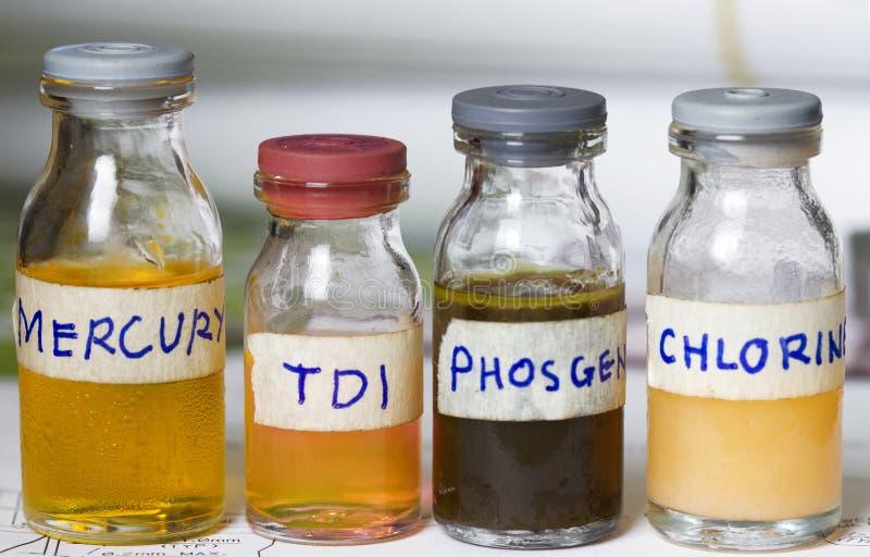 Gefährliche Chemikalien lizenzfreie stockbilder