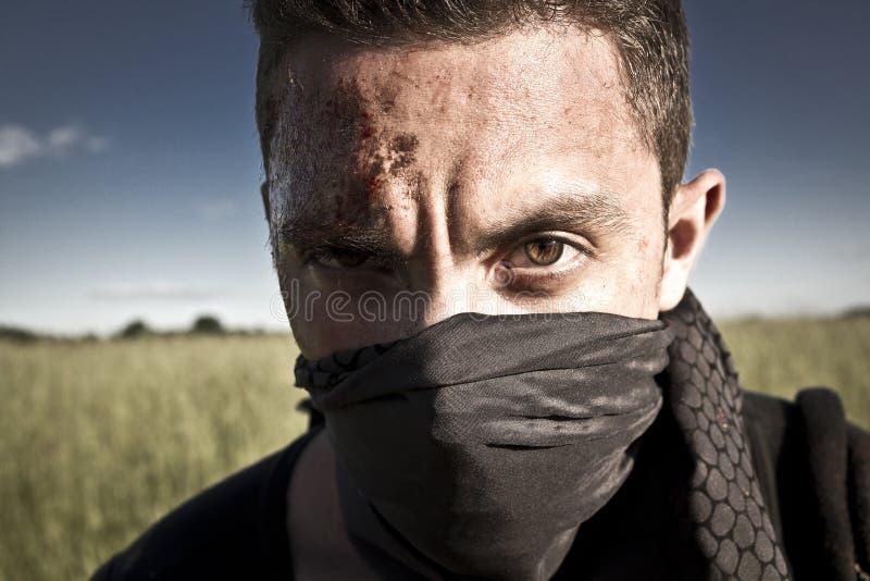 Gefährlicher Gangster stockfoto