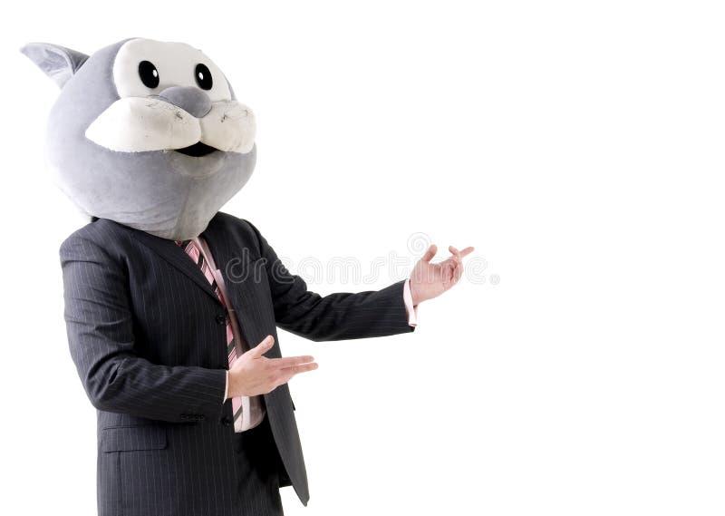 Gefälschter Berater stockbild