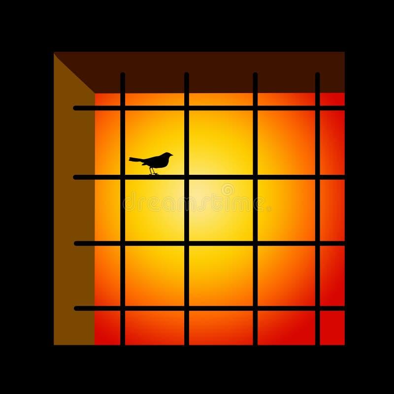 Gefängnis stock abbildung