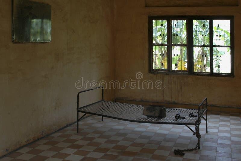Gefängnis-Bett 2 Stockfotografie