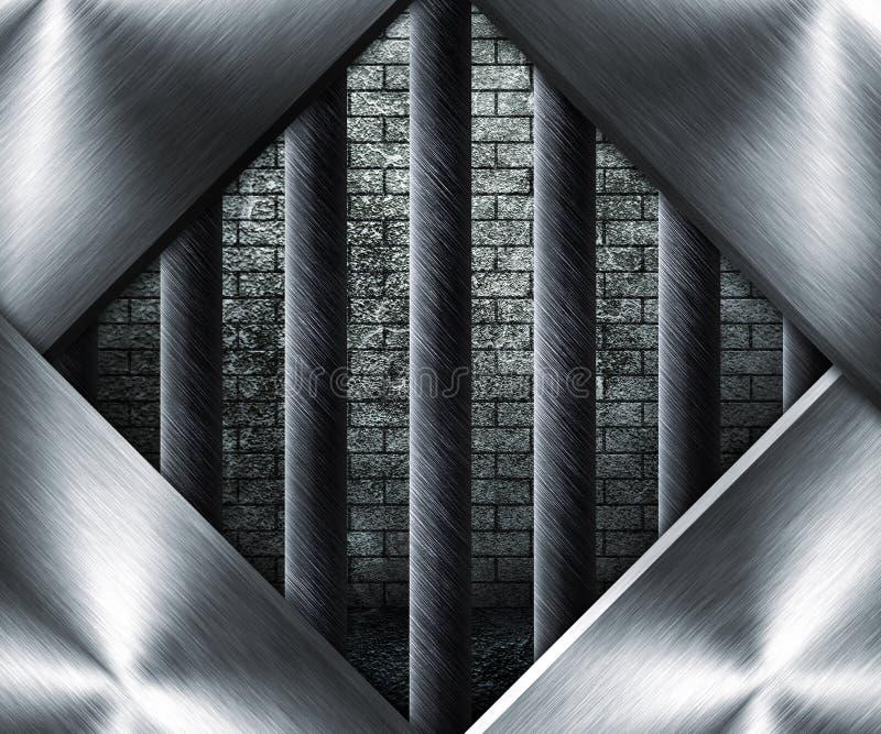 Gefängnis-Fenster stockbild. Bild von gaol, rahmen, hintergrund ...