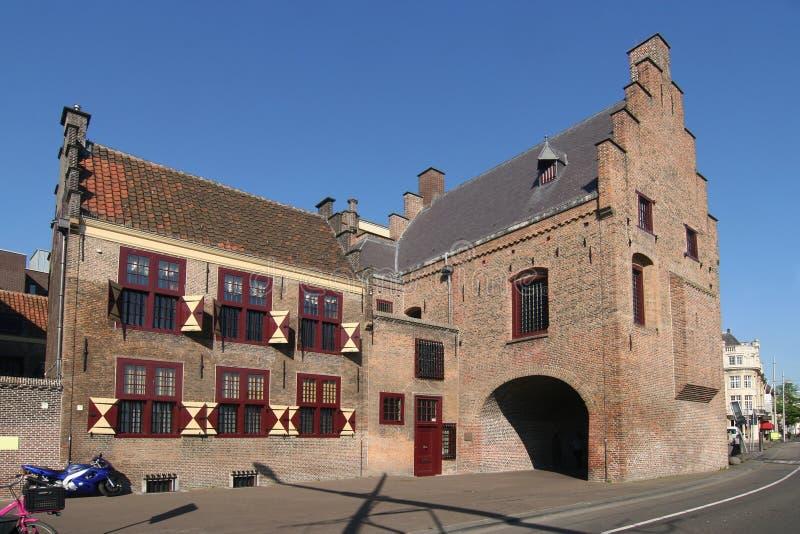 Gefängnis-Gatter-Museum in Den Haag stockfotografie
