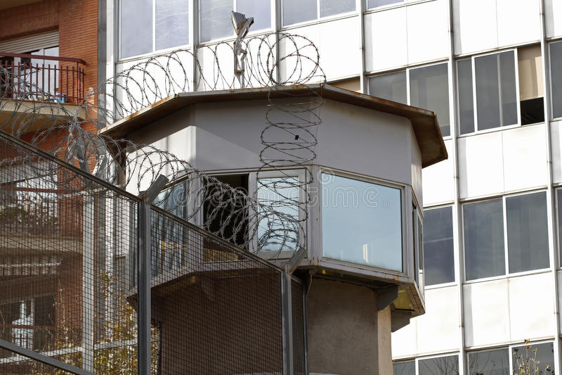 Gefängnis-Mitte stockfotos