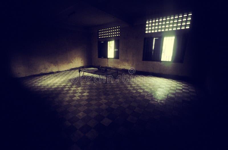Gefängnis S21 stockfoto