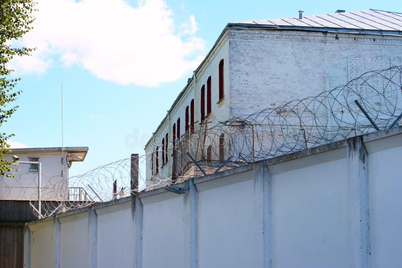 Gefängnisgebäude stockfotos