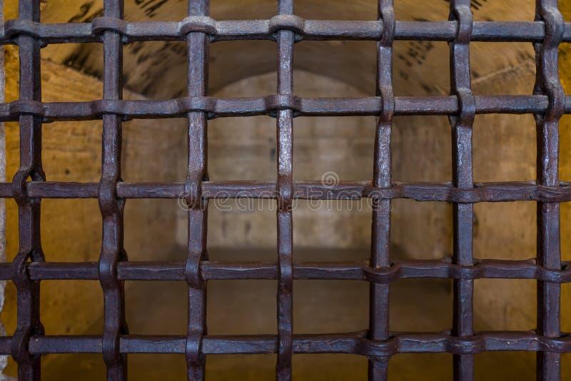 Gefängnisse Palazzo Ducale in Venedig stockfotografie