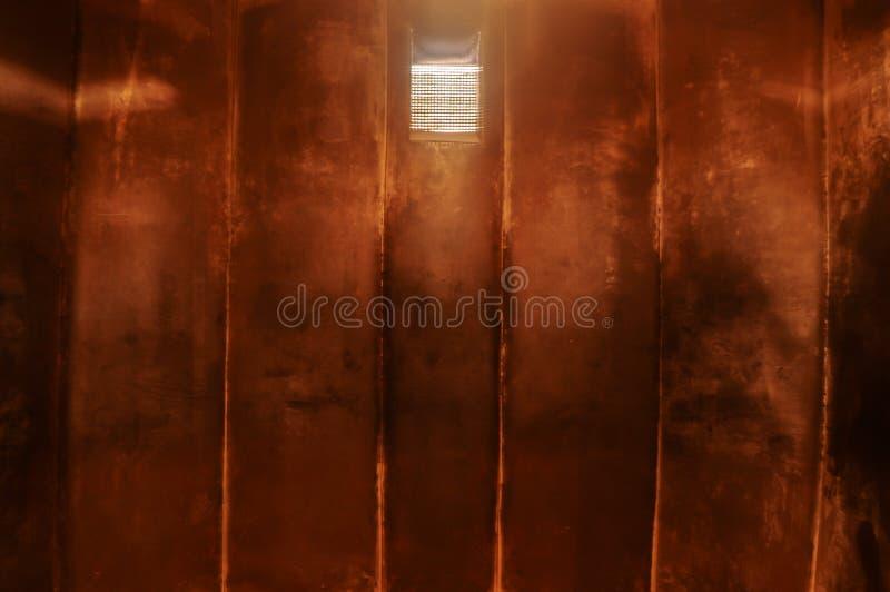 Gefängniszelle im kommunistischen Gefängnis, Berlin lizenzfreie stockbilder
