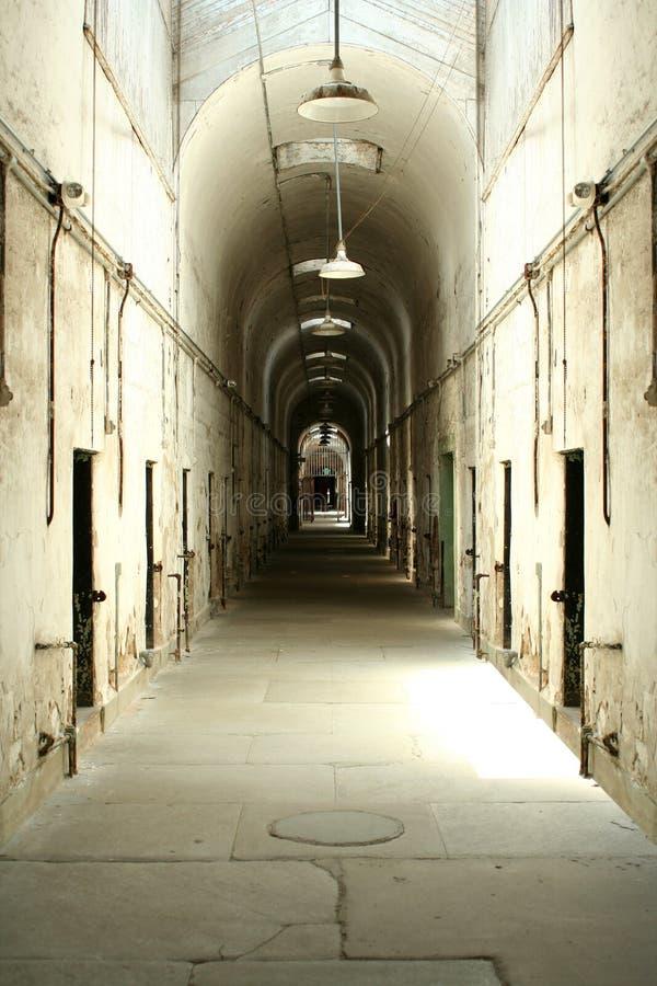 Gefängniszellenblock lizenzfreie stockfotos