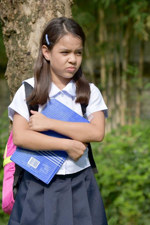 Gefühllose katholische asiatische Person stockfotografie