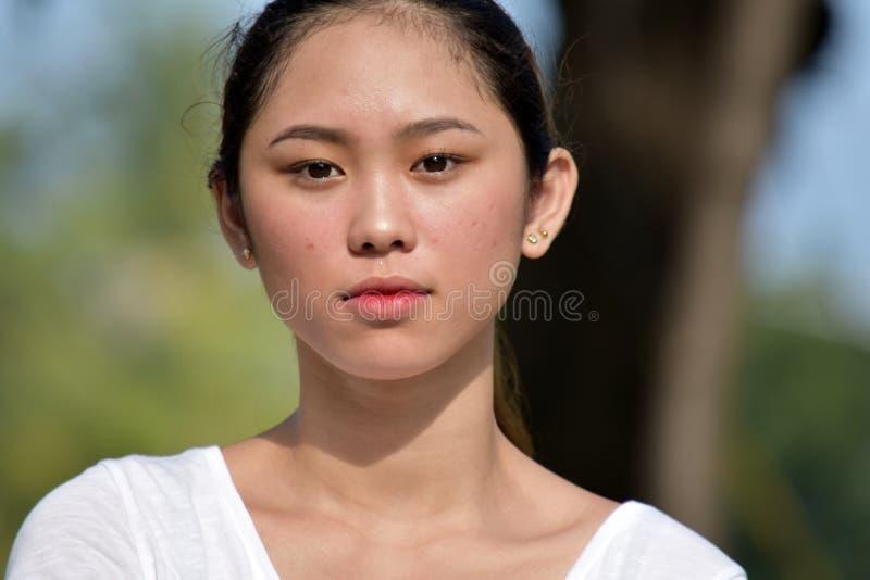 Gefühlloses Filipina Female stockbilder