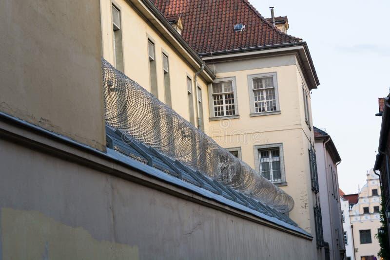 Gef?ngnis in Luneburg, Deutschland lizenzfreie stockfotografie