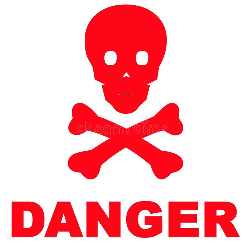 Gefahr lizenzfreie abbildung