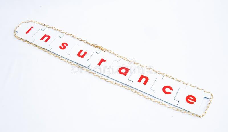 Gefahr: die Notwendigkeit an der Versicherung. stockfoto