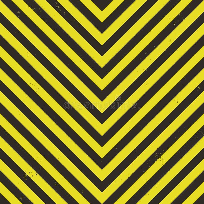 Gefahr Stripes Vektor vektor abbildung