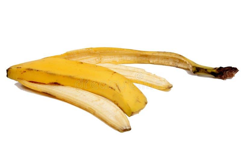 Gefahr von Unfällen durch Bananenhaut 1 lizenzfreies stockfoto
