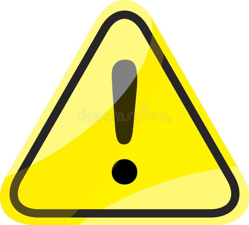 Gefahrenverkehrszeichen vektor abbildung