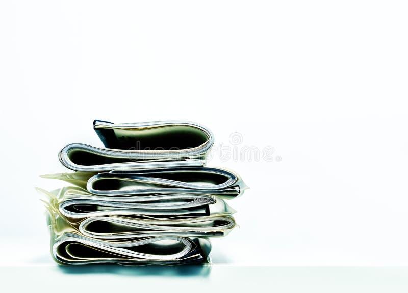 Gefalteter Stapel legaler oder der Versicherung Papiere des Geschäfts, stockfoto