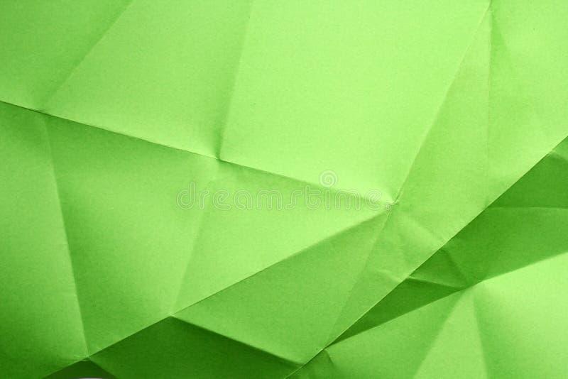 Gefaltetes Papier stockfotografie