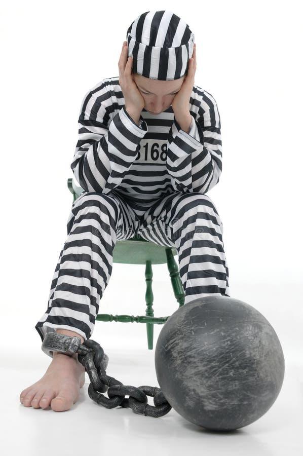 Gefangener stockfotos