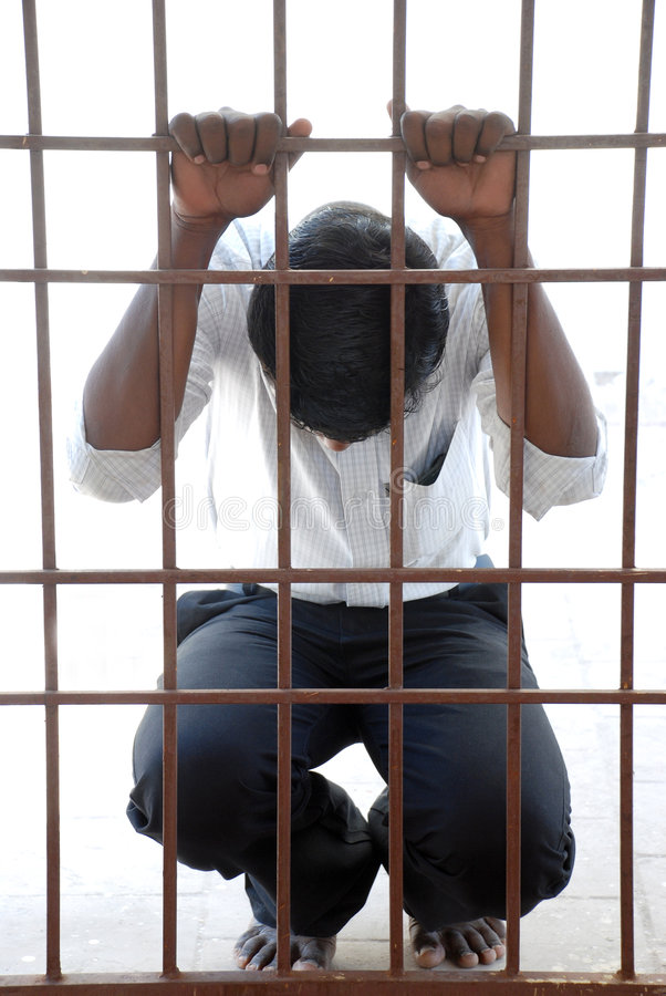 Gefangener lizenzfreies stockbild