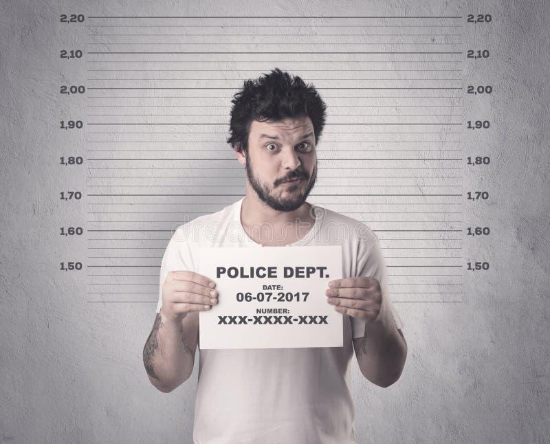 Gefangener Straftäter stockfotografie