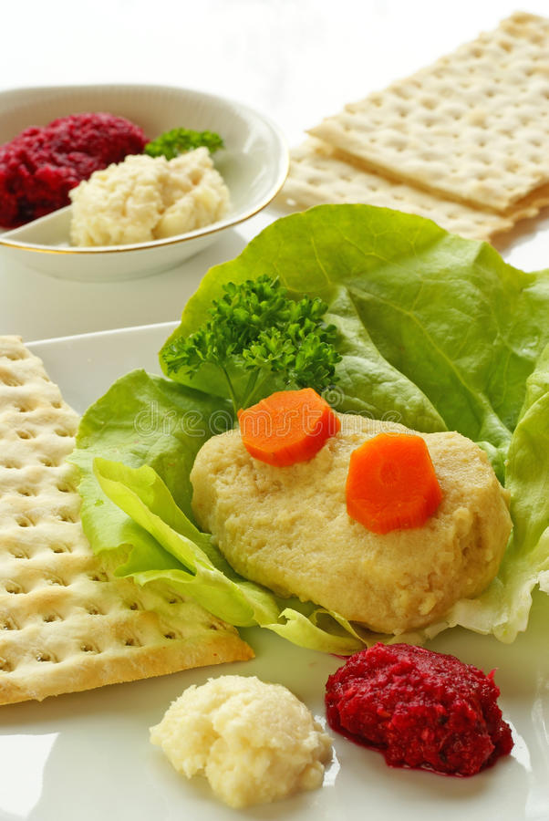 Free Gefilte Fish Royalty Free Stock Photography - 19060327