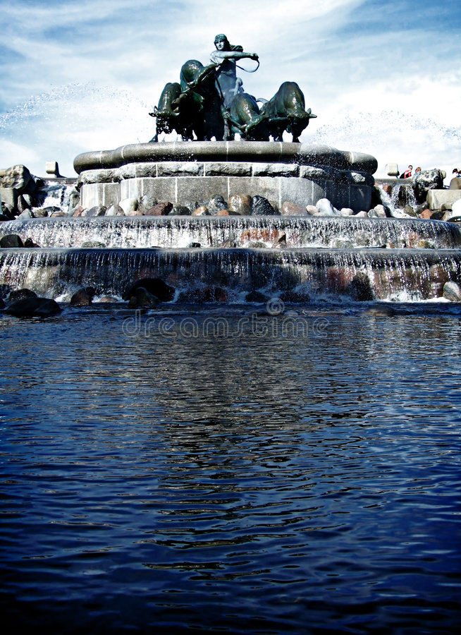 Download Gefion Fountain 01 stock photo. Image of stone, popular - 7456378