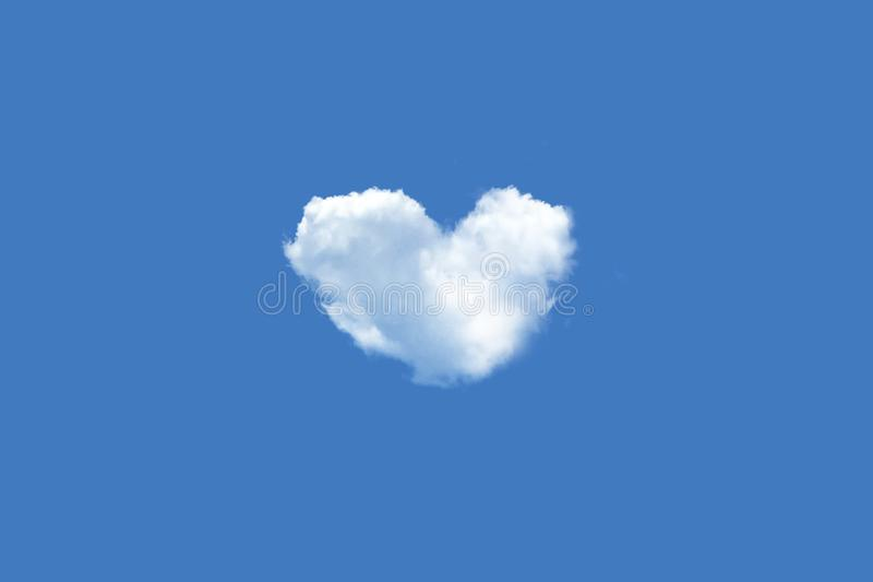 Geformte Wolke des Inneren stockfotografie