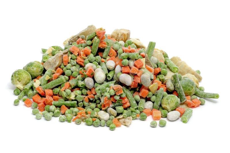 Gefrorene Gemüsemischung lizenzfreie stockfotos