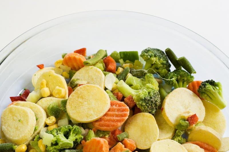 Gefrorene vegatables lizenzfreies stockfoto