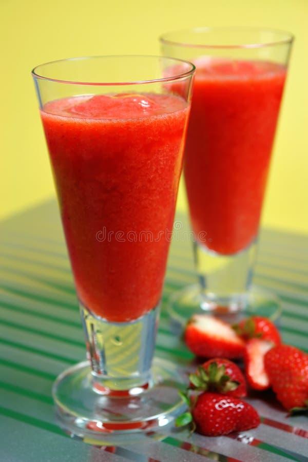 Gefrorener ErdbeereDaiquiri stockfotos