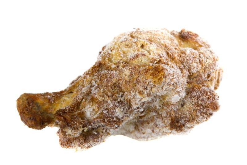 Gefrorener Hühnerflügel lizenzfreie stockfotos