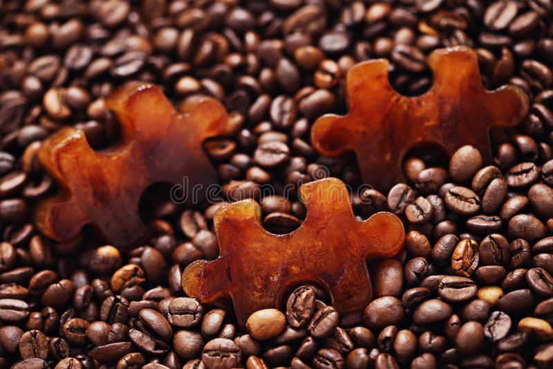 Gefrorener Kaffee stockfotografie
