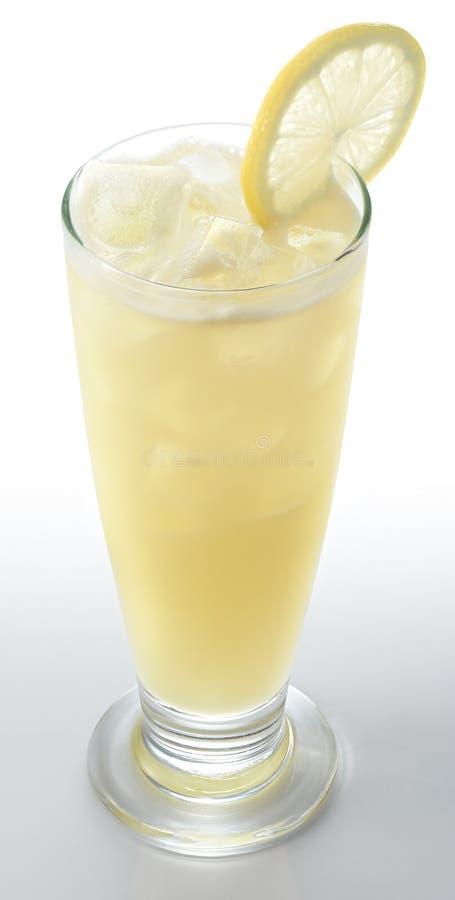 Gefrorener Zitronensaft lizenzfreie stockfotos