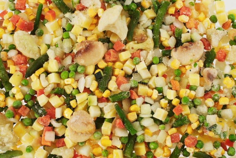 Gefrorenes Gemüse stockbilder