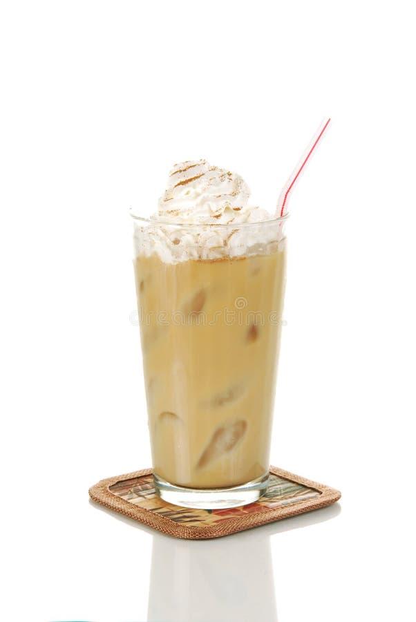 Gefrorenes latte stockbild