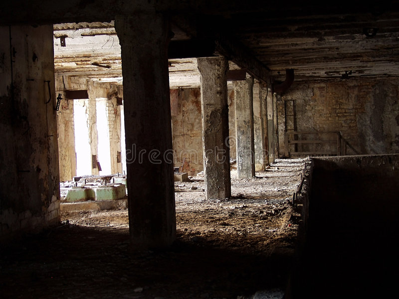 Download Gegaane industriële 6 stock foto. Afbeelding bestaande uit ruïne - 39538