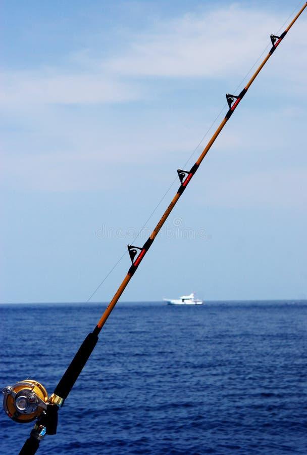 Gegangene Fischerei lizenzfreies stockfoto