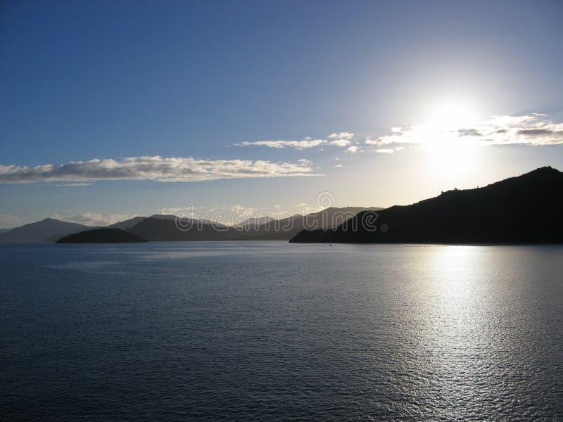 Gegen die Sonne stockbilder