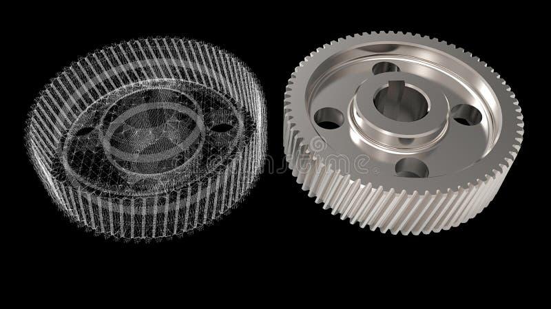 Gegenstände des Designs 3D lizenzfreies stockfoto