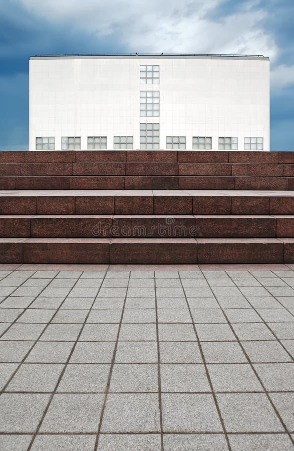 gegenwart hamburg galerie der здания стоковое изображение