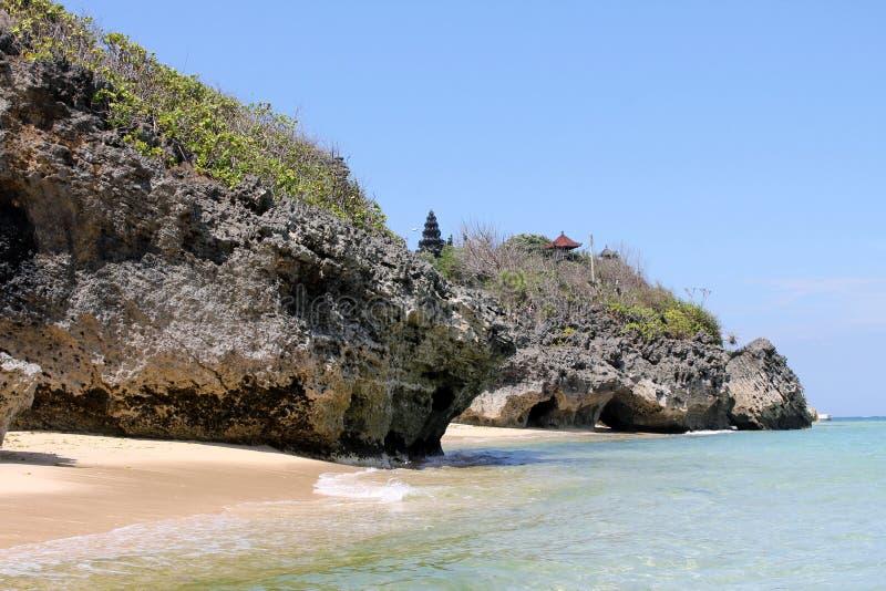 Geger-Strand, Bali lizenzfreie stockfotografie