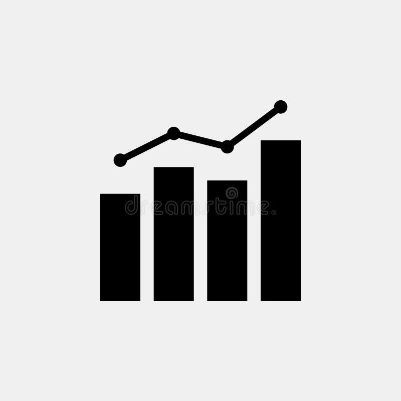Gegevens Analitisch statisch vectorpictogram vector illustratie