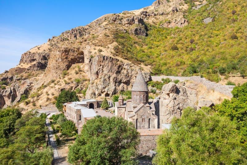 Geghard-Kloster, Armenien stockbilder