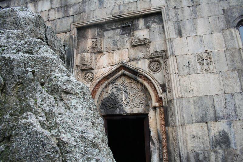 Geghard monaster, monaster dzida, Kotayk prowincja, Armenia zdjęcia stock