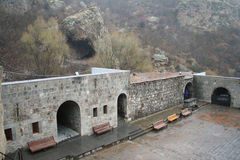 Geghard monaster, monaster dzida, Kotayk prowincja, Armenia fotografia royalty free